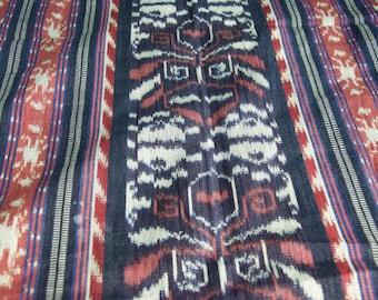 Vintage Ikat Cotton Scarf