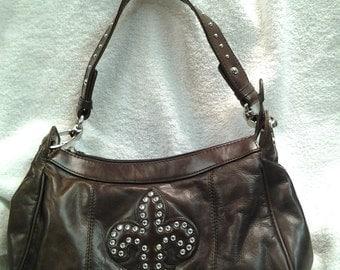 M.C. Marc Chantal Brown Handbag