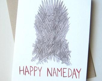 Game of Thrones Birthday// Happy Nameday