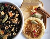 Orange Spice Organic Loose Leaf Tea / Hand Blended / Black Tea Blend /Organic Flavor