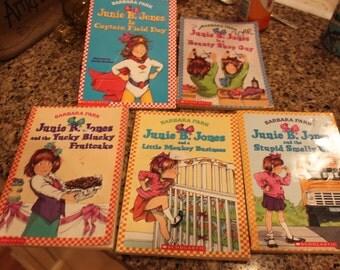 Vintage SET of 5 Junie B. Jones Books