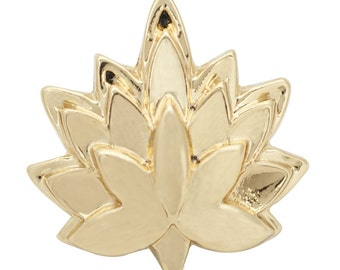 1 PC 18MM Plant Leaf Flower Gold Candy Snap Charm ds5173 CC1688