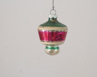 Vintage Christmas Ornament Glass Christmas Ornament 387