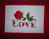 Valentine Love Placemats