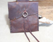 Pouch for Belt-Awesome Kodiak Leather