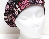 Ladies Surgical Scrub Hat - Cap - Bouffant - Valentine's