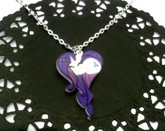 Kawaii Rarity Necklace, My Little Pony Friendship is Magic