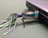 Flash Drive Fishing Lure 16 GB USB Thumb Drive - Bass Flashy Fish Drive