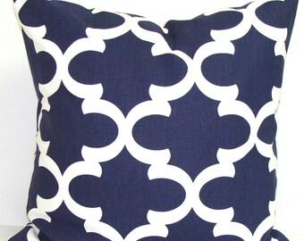 NAVY BLUE PILLOW Sale.16x16 inch.Pillow Cover.Decorative Pillow Cover.Navy Blue Throw Pillow.Blue Pillow.Housewares.Home Decor.Dark Blue