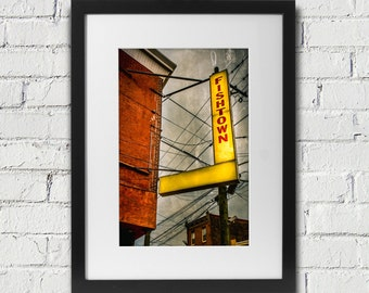 Fishtown Art Photography- Print of Fishtown in Philadelphia