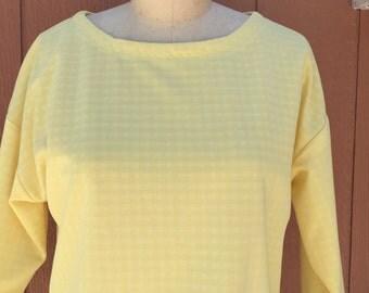 70's Yellow Blouse