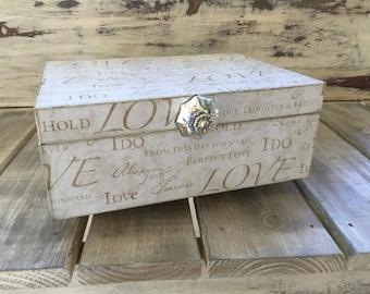 Wedding Print Decorative Box