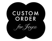 CUSTOM ORDER -- Custom Wedding Logo Design
