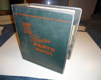 Original 1955 thru 1965 GMC Truck Master Parts Book-Reference-Collectible-GMC Truck Restoration-