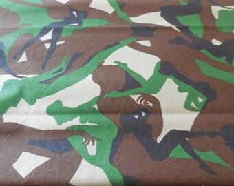 Camouflage Girls - Alexander Henry Fabric 1 Yard