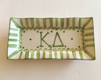 Kappa Delta Large Trinket Tray