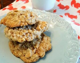 Oatmeal Raisin Cookies  Golden, delicious, freshly made cookies Wedding Favors