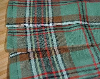 Baby Kilt, 12-18m, Green Tartan Baby Kilt, 100% 8oz Pure New Wool. Handmade in Scotland.