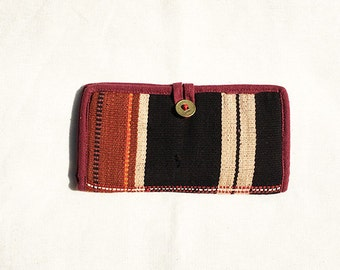 Handmade Tribal Woven Long Wallet