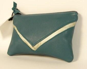 Coin purse SALOMÉ petrol blue