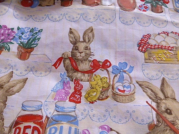 Large Size Easter Tablecloth