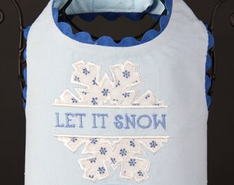 Let it Snow DOG HARNESS