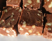 chocolate pecan fudge: 1 lb gift wrapped