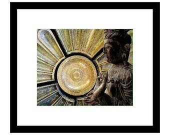 the Buddha meditation photo collage Paul Ashby Dallas artist photomontage