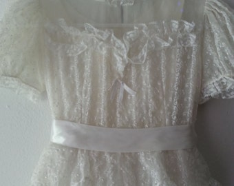 Vintage 1950s First Communion Dress