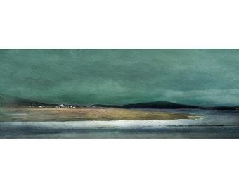 Isle of Harris, Salt Marshes. Scottish landscape art prints