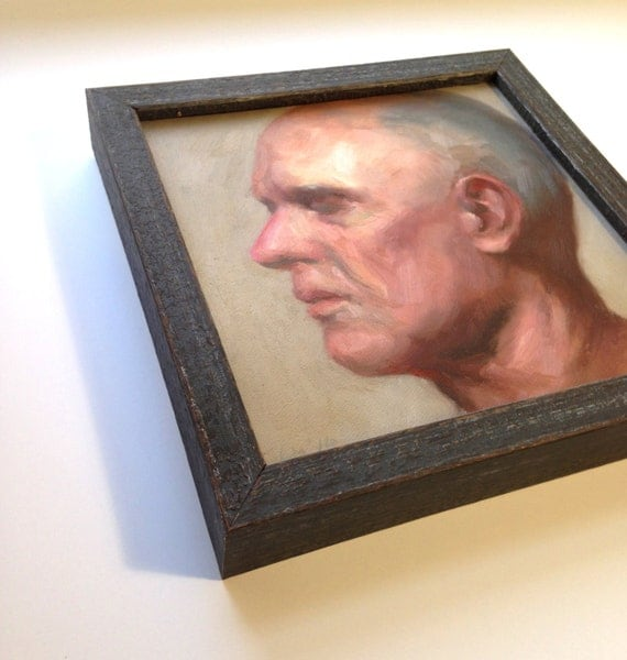 Custom Dark Gray Wood Frame 3 4 Quot Wide 1 3 8 Quot High Made