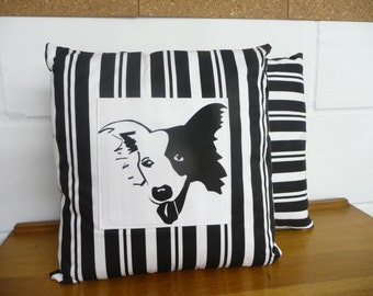 Border Collie Cushion