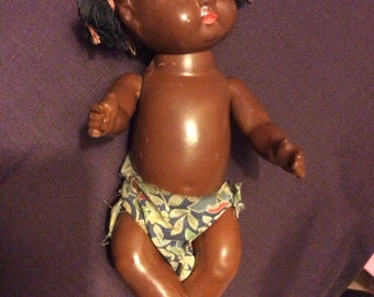 African American baby doll.