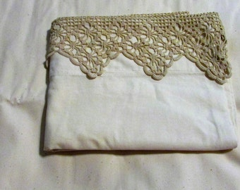 Lace Pillow Case, Small like for a baby pillow