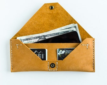 Long wallet - camel