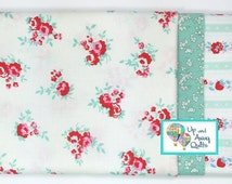 Pillowcase Kit - Milk, Sugar & Flower White Mint Floral