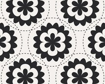 Pillowcase Kit - Geometric Bliss Black Medallions