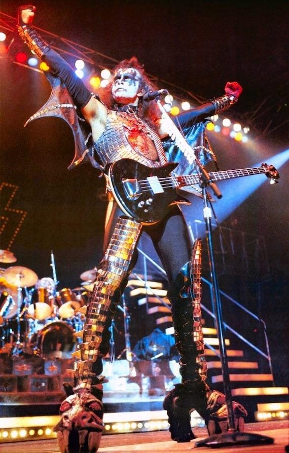 Kiss Gene Simmons Alive Ii Era Poster Stand Up Display Kiss