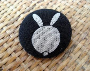 SALE,10%off,Rabbi Brooch,Rabbit pin,cotton