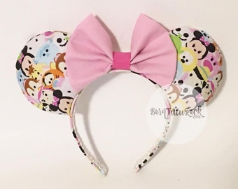Tsum Tsum Mouse Ears // by Born Tutu Rock