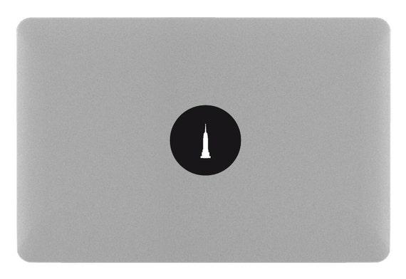EMPIRE STATE BUILDING - MacBook Sticker Decal