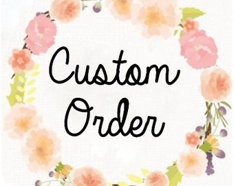 Custom Order Jessica, Blushing Vintage FLower Girl Dress
