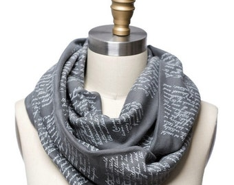 ON SALE: Sense and Sensibility Book Scarf
