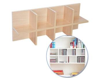 CD usage for IKEA Billy shelf / beech