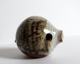 Adorable Vintage Briglin Pottery Animal / Mole or Hedgehog / Ceramic