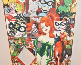 Harley and Ivy Wall Plaque (made to order)