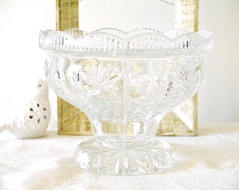 Crystal Glass Dish