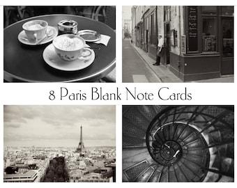 Paris Photography Note Cards