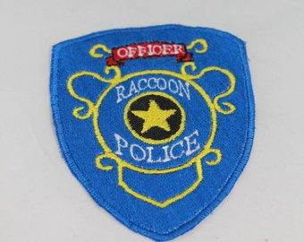 Fully Embroidered 4 1/2 Inch Raccoon City Police Officer Resident Evil Cosplay Costume Patch