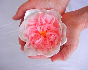 Fabric Juliet Rose, DIY Flower, Old Garden Rose, Modern Rose, Fabric Rose, English Rose